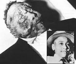 Emmett Till was 14 when he was savagely beaten, mutilated and murdered for flirting with a white woman.