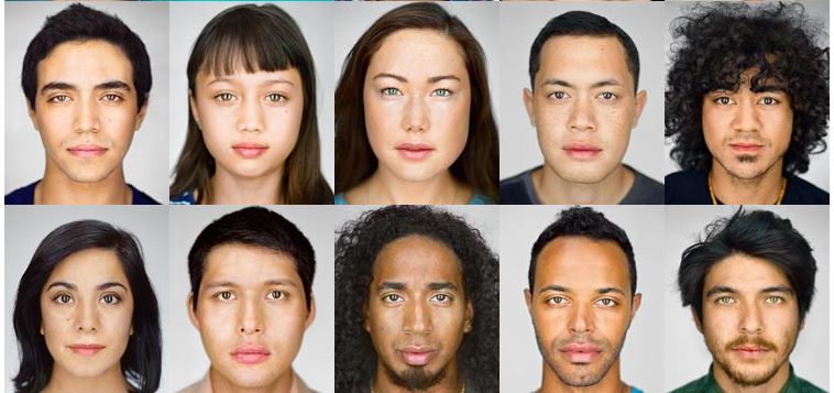 how to make yourself look mixed race