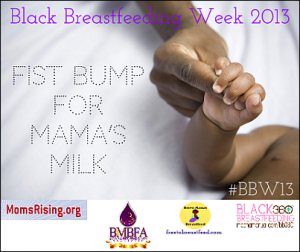 Source: Black Breastfeeding Week on Facebook